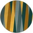 rug #936365 | round yellow popular rug