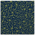 rug #938609 | square blue damask rug
