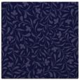 rug #938653 | square blue-violet damask rug