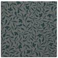 rug #938697 | square green damask rug