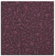 rug #938797 | square purple damask rug