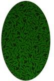 rug #938985 | oval damask rug