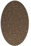 rug #939035 | oval damask rug