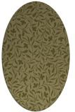 rug #939266 | oval traditional rug