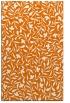 rug #939489 |  orange damask rug