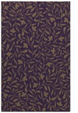 rug #939525 |  purple damask rug