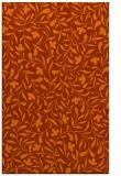 rug #939549 |  red-orange damask rug