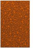 rug #939557 |  red-orange damask rug