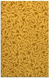 rug #939605 |  yellow damask rug