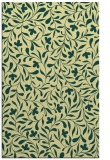 rug #939609 |  yellow damask rug