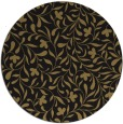 rug #939673 | round black natural rug