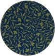 rug #939689 | round blue natural rug