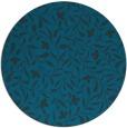 rug #939713 | round blue rug