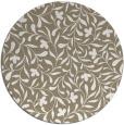 rug #939801   round white natural rug