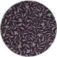 rug #939889 | round purple natural rug