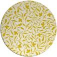 rug #939929   round white damask rug