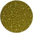 rug #939973 | round light-green natural rug