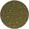 rug #939985 | round light-green damask rug