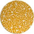 rug #939989 | round light-orange damask rug