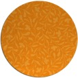 rug #939997 | round light-orange natural rug