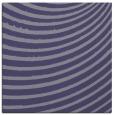 rug #942257 | square blue-violet stripes rug