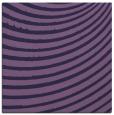 rug #942265 | square purple circles rug