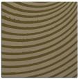 rug #942281 | square brown circles rug
