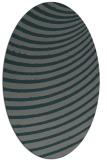 rug #942658 | oval stripes rug