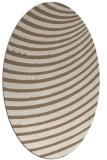 rug #942677   oval beige retro rug