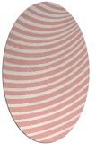 rug #942754 | oval stripes rug
