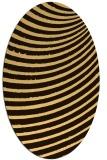 rug #942839 | oval abstract rug