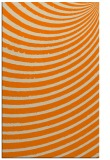 rug #942885 |  orange circles rug
