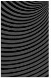 rug #942893 |  black stripes rug