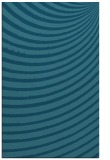 rug #942957 |  blue-green retro rug