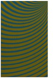 rug #942965 |  green stripes rug