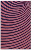 rug #942981 |  blue-violet circles rug