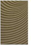 rug #943001 |  mid-brown circles rug