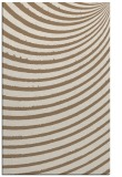 rug #943037 |  mid-brown circles rug