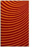 rug #943085 |  red-orange circles rug
