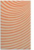 rug #943093 |  orange stripes rug
