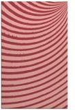 rug #943109 |  pink abstract rug
