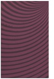rug #943117 |  purple stripes rug