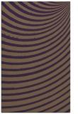 rug #943125 |  mid-brown circles rug