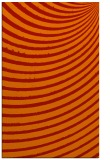 rug #943137 |  orange retro rug
