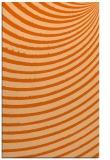 rug #943153 |  red-orange circles rug