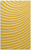 rug #943189 |  yellow retro rug