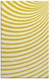 rug #943201 |  yellow retro rug