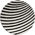 rug #943249 | round white abstract rug
