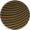 rug #943265 | round mid-brown graphic rug