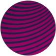 rug #943281 | round blue retro rug